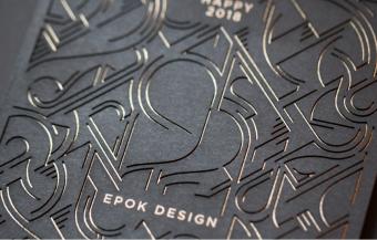 EPOK DESIGN – cartes de voeux